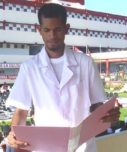 Sidonio Joao, un timorense en Sandino